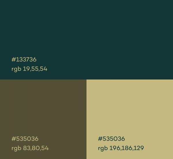 IamLIU 网站首页配色方案